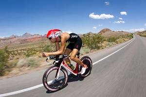Jordan Rapp, professional triathlete, and Ironman Champion!