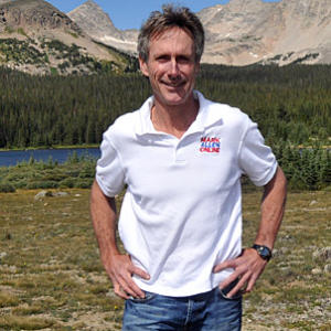 Mark Allen, one of the all-time great professional triathletes!