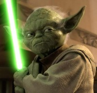 If you're going to quote Yoda, you have to put in a picture!