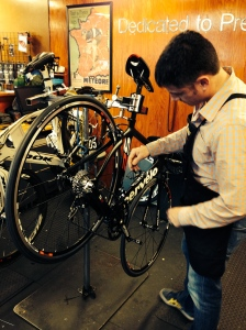 Reed working on my S2!