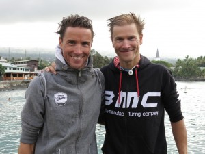 German brothers Michael and Andreas Raelert. True forces in the triathlon world!
