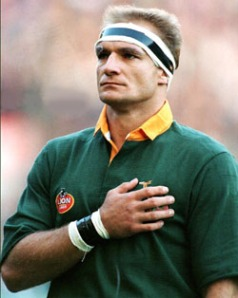 For some reason as I wrote this post my mind kept flashing to the movie Invictus. This is Francois Pienaar the captain of the South African National Rugby team who is portrayed in the film.